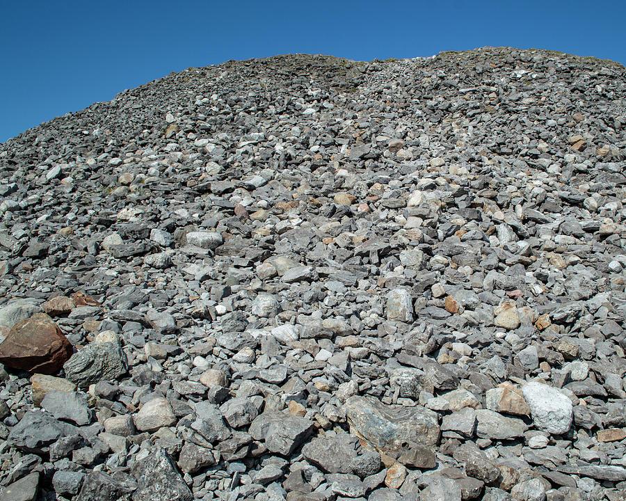 Climbing Knocknarea - April by Lisa Blake