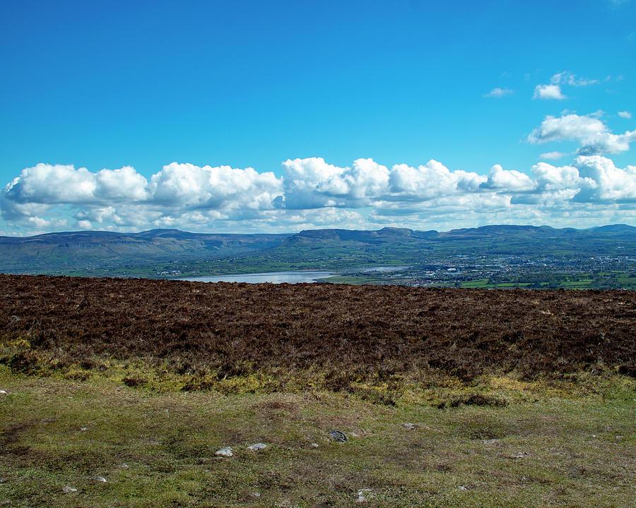 Climbing Knocknarea - June by Lisa Blake