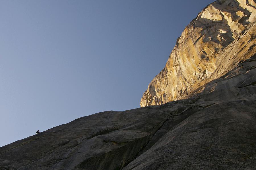El Capitan Photograph - Climbing the Captain by Melissa Southern