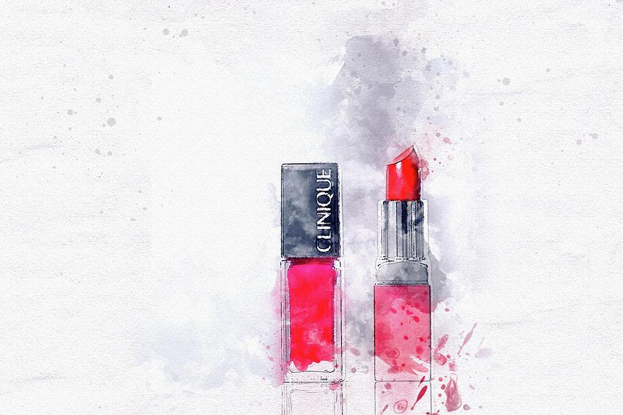 Clinique Cosmetics Digital Art