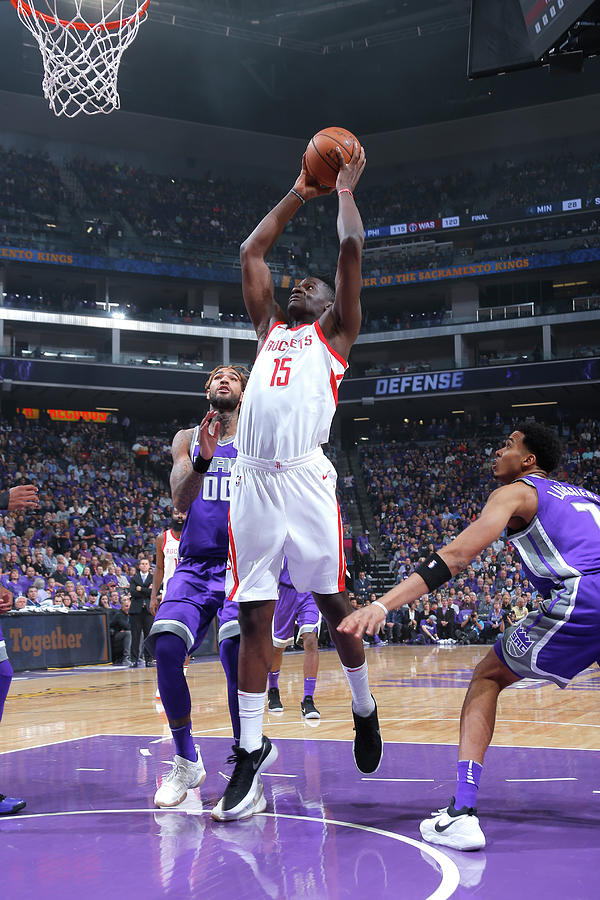 Clint Capela Photograph by Rocky Widner