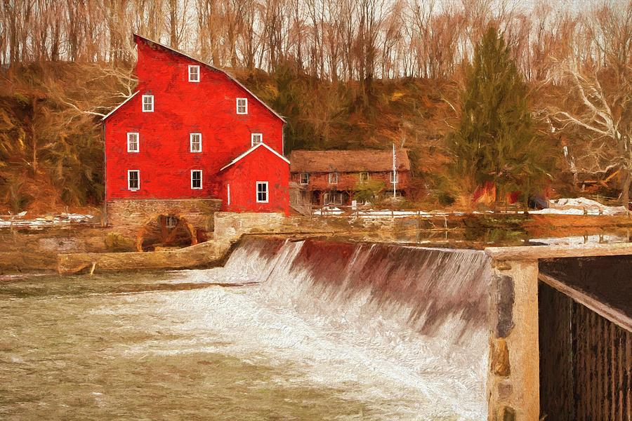Mill Photograph - Clinton Mill by Linda Bielko