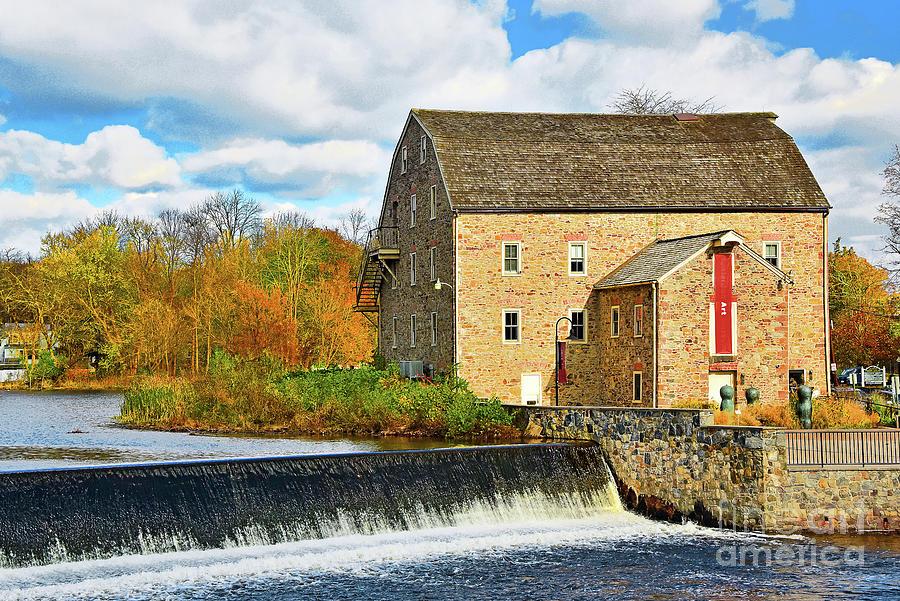 Clinton Waterfall and Art Museum NJ by Regina Geoghan