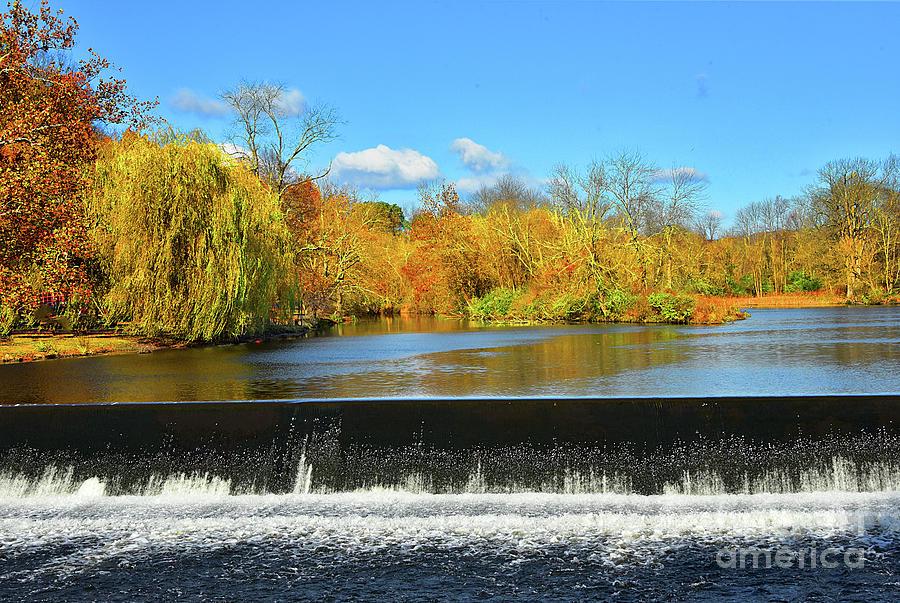 Clinton Waterfall of the Raritan River by Regina Geoghan