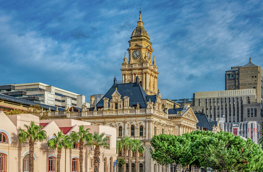 Clock Tower of City Hall, Cape Town by Marcy Wielfaert