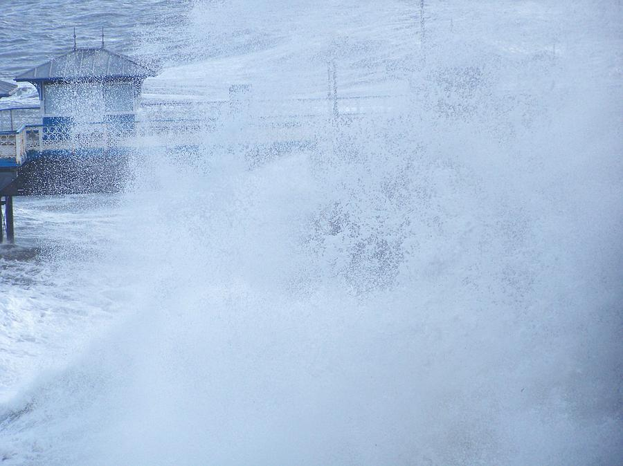 Waves Photograph - Close one by Christopher Rowlands