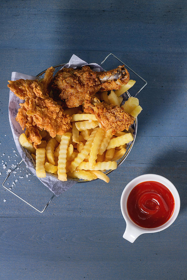 Close-Up Of Food On Table Photograph by Natasha Breen / EyeEm