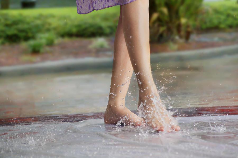Close-up of womans feet Photograph by Abhinandita Mathur