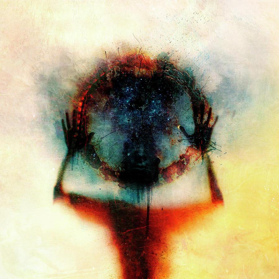 Identity Digital Art - Closer by Mario Sanchez Nevado