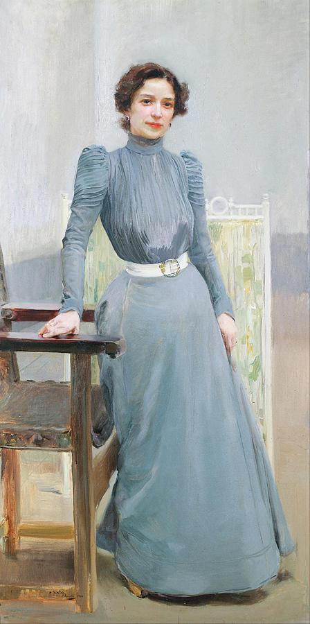 Clotilde Garcia Del Castillo Painting
