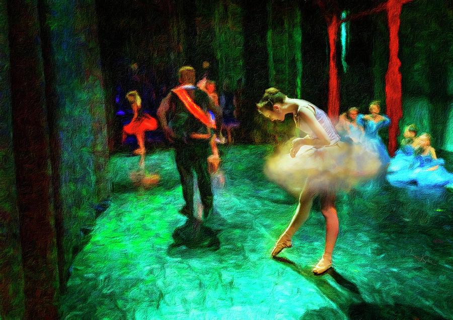 Cloud Ballerina Prepping by Craig J Satterlee