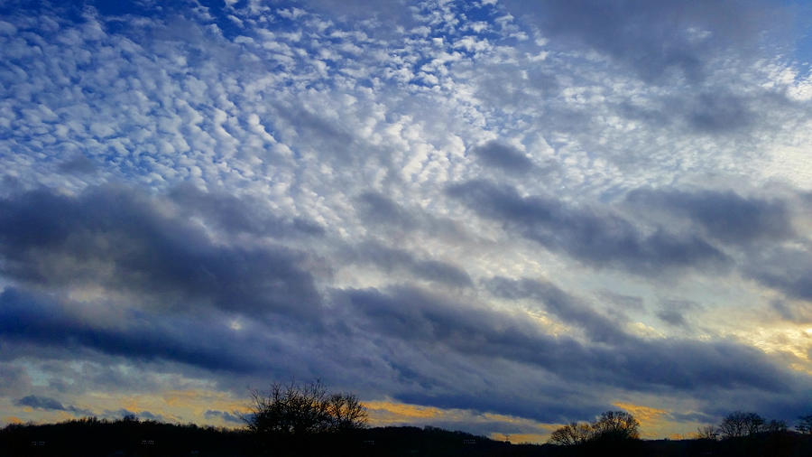 Cloud Layers 1/15/20 by Ally White