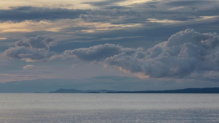 Cloud Layers Photograph