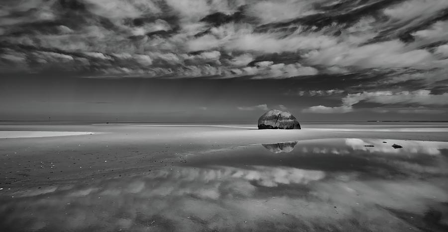 Orleans Ma Photograph - Cloud Reflection at Rock Harbor Cape Cod by Dapixara Art
