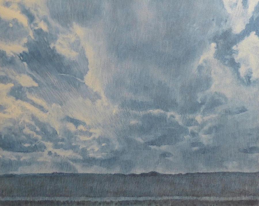 North Dakota Painting - Cloudpower, painting by Cris Fulton