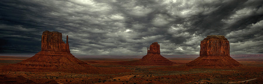 Clouds in Monument Valley by Jon Glaser