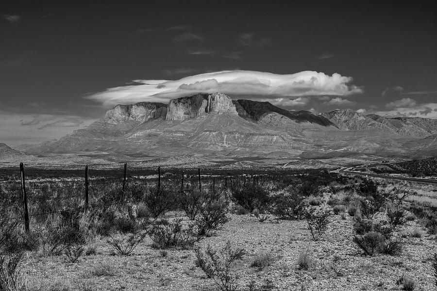 Clouds Over Guadalupe Mountain  by Matthew Irvin