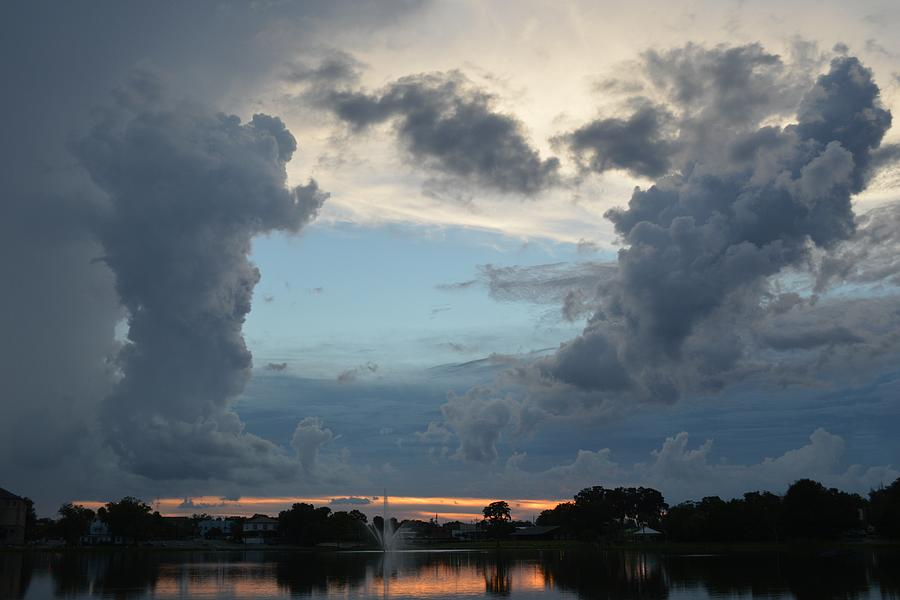 Clouds Over Sunset by RD Erickson