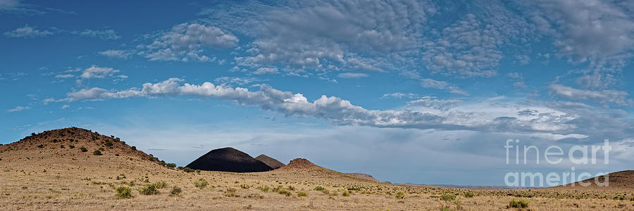 Cloudscape Over The Hills Of West Texas Between Marfa And Fort Davis - Chihuahuan Desert Photograph