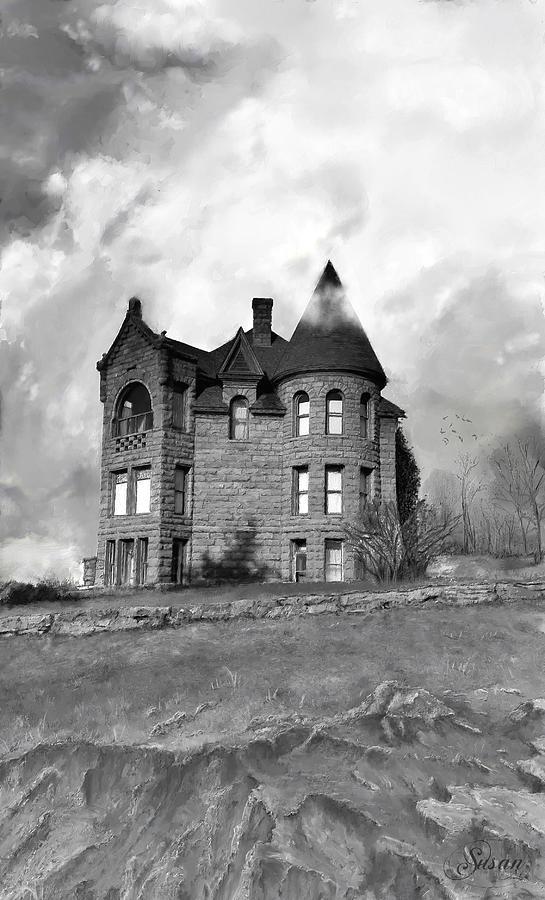 Cloudy Castle by Susan Kinney