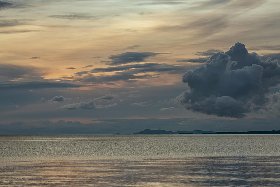 Cloudy Evening Photograph
