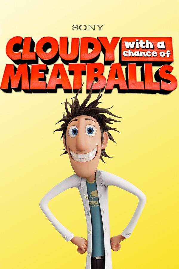 Cloudy With A Chance Of Meatballs 2009 Digital Art By Geek N Rock