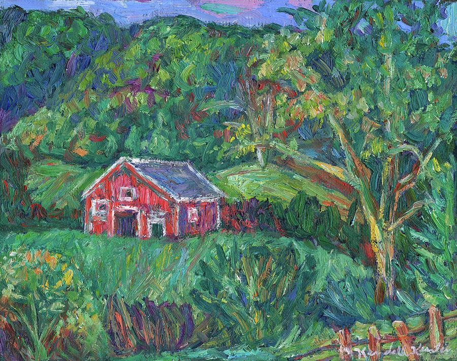 Rural Painting - Clover Hollow in Giles County by Kendall Kessler