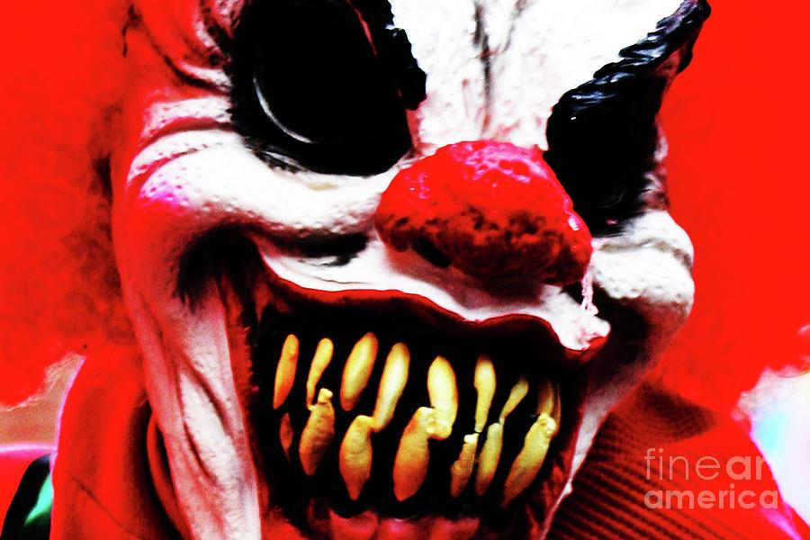 Clown Photograph - Clown 1 by Alan Harman
