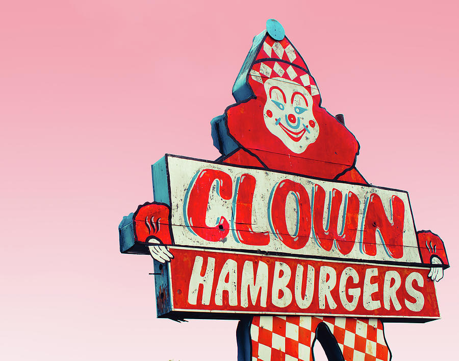 Clown Burger by Sonja Quintero