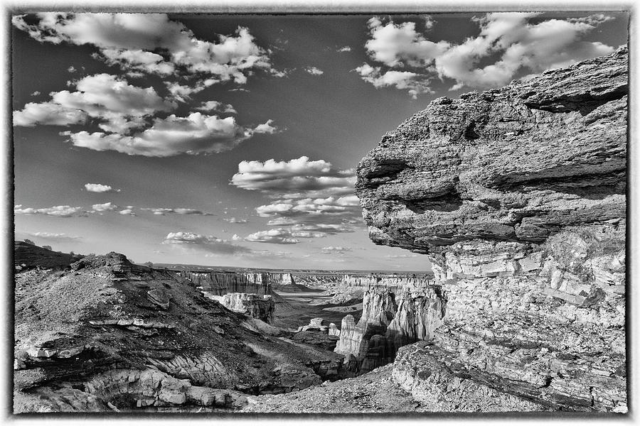 Coal Mine Canyon  Artsy Photograph