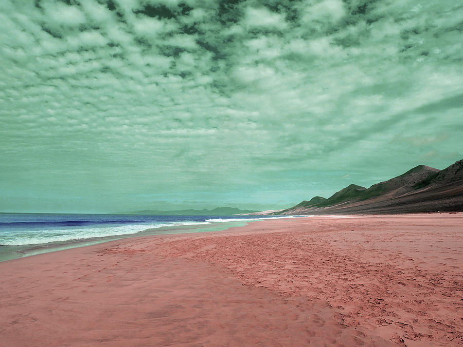 Coast Line - Surreal Art By Ahmet Asar Digital Art