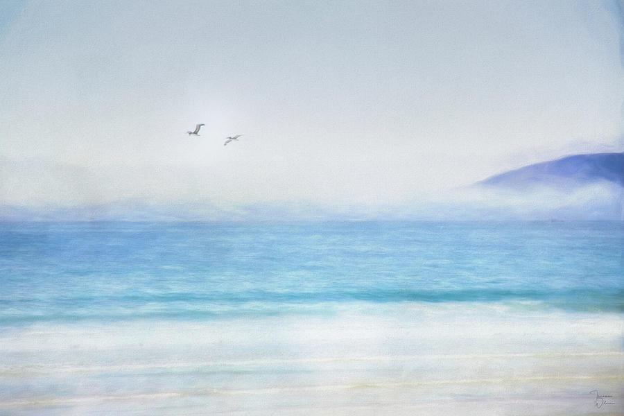 Coastal Calm Digital Art