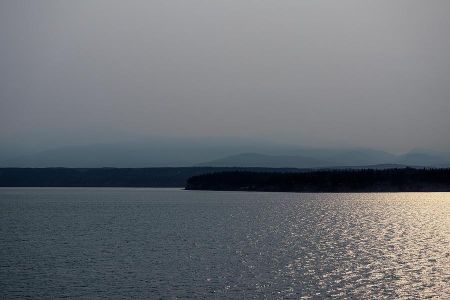 Coastal Evening Glisten Photograph