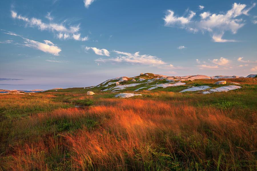 Coastal Evening Sunset by Irwin Barrett