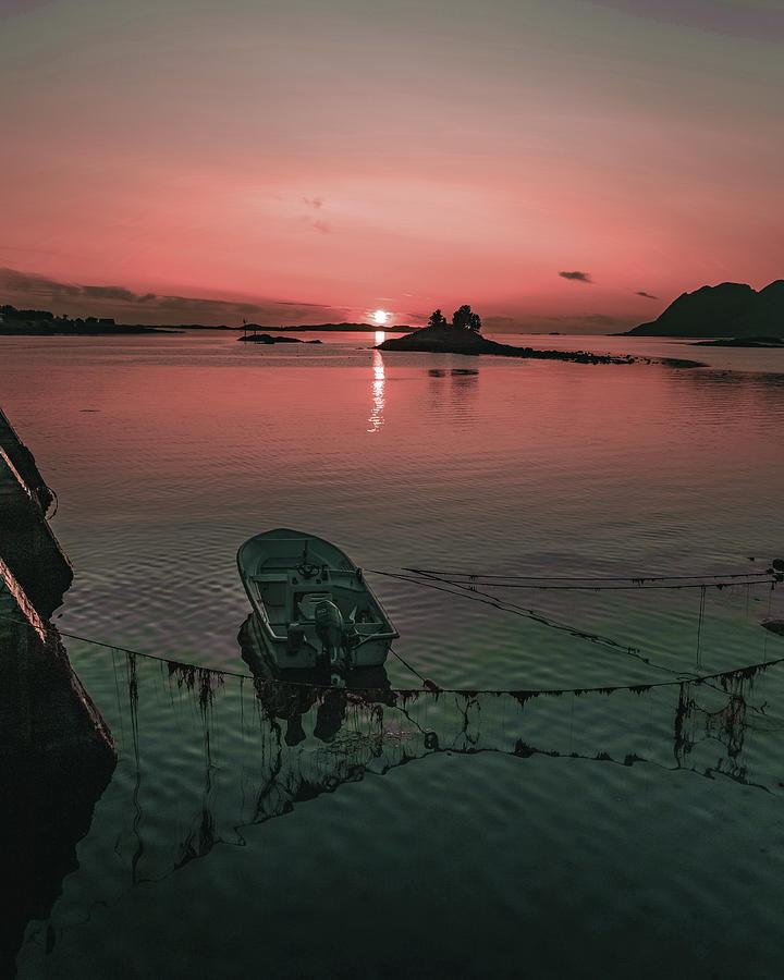 Coastal Sunset - Surreal Art By Ahmet Asar Digital Art