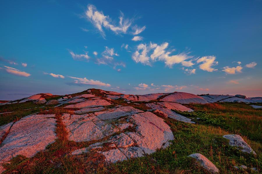 Coastal Wilderness in Last Sunlight by Irwin Barrett