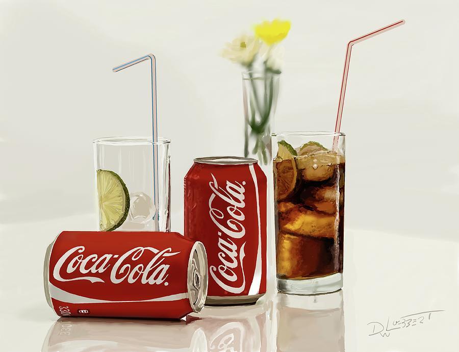 Coca Cola by David Luebbert