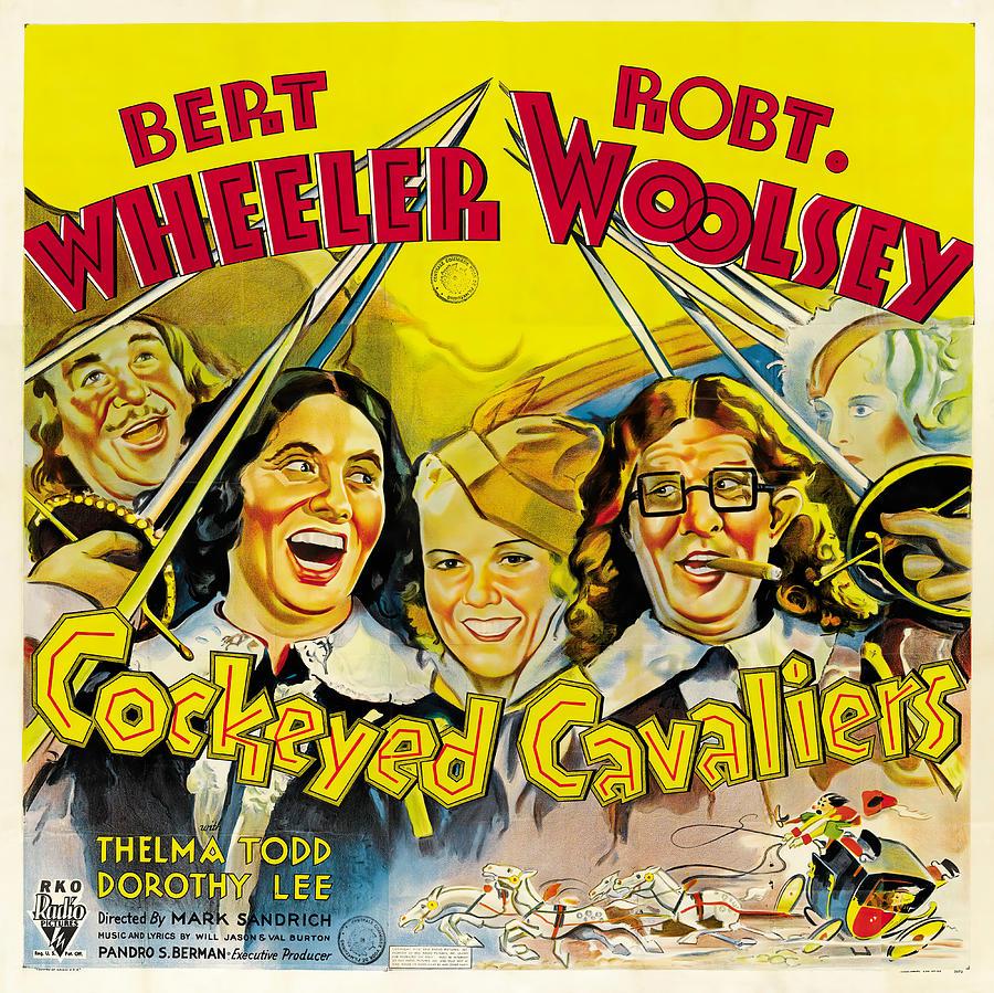 Cockeyed Cavaliers, With Bert Wheeler And Robert Woolsey, 1934 Mixed Media