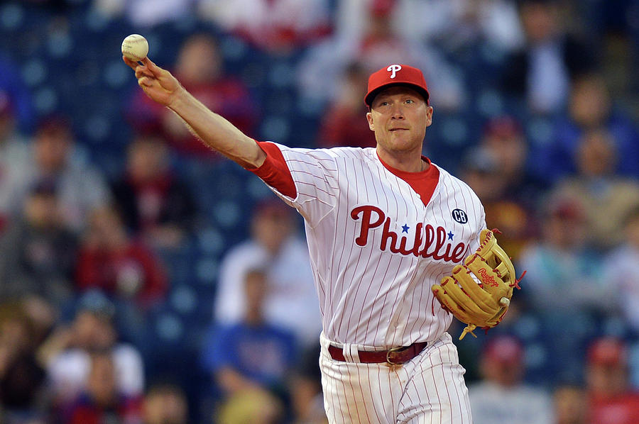 Cody Asche Photograph by Drew Hallowell