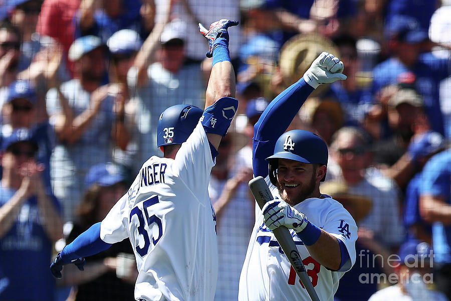 Cody Bellinger And Max Muncy Photograph by Yong Teck Lim