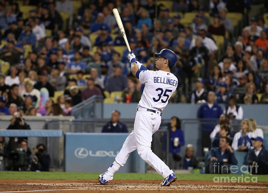 Cody Bellinger Photograph by Victor Decolongon