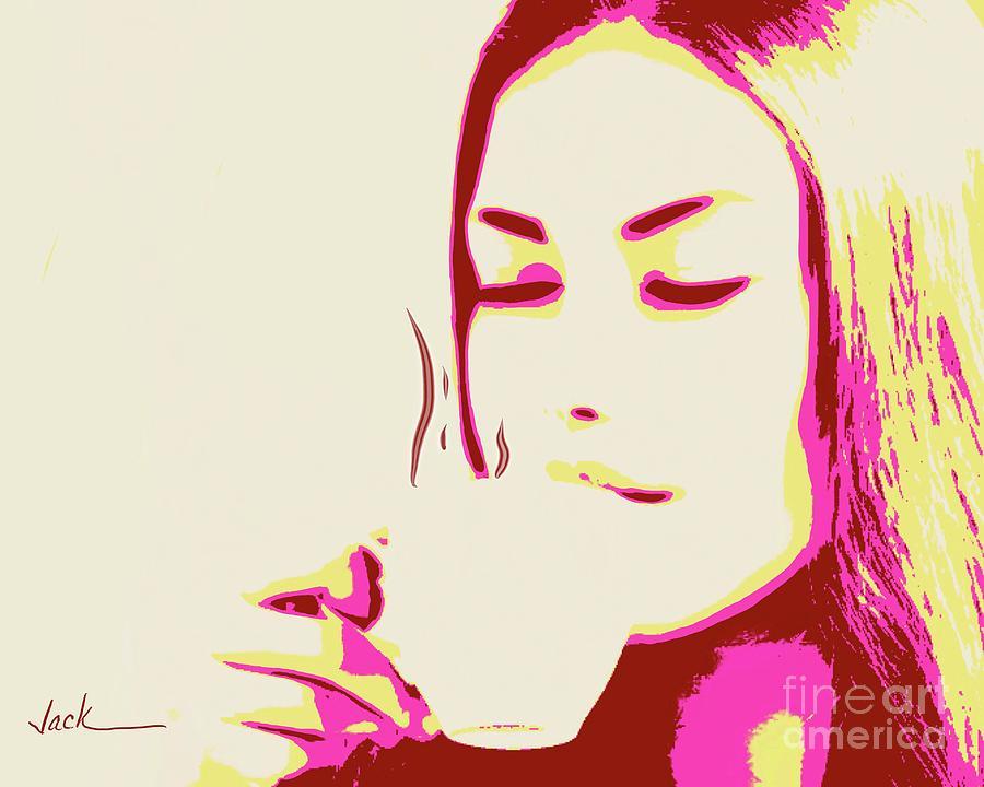 Coffee Painting - Coffee 11221 by Jack Bunds
