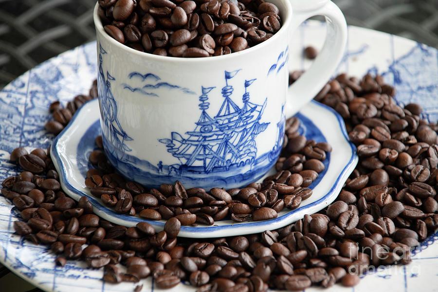 Coffee Bean Sailing Photograph