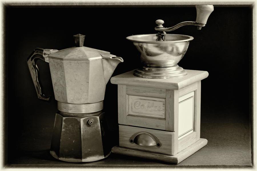 Coffee Pot Still Life Photograph