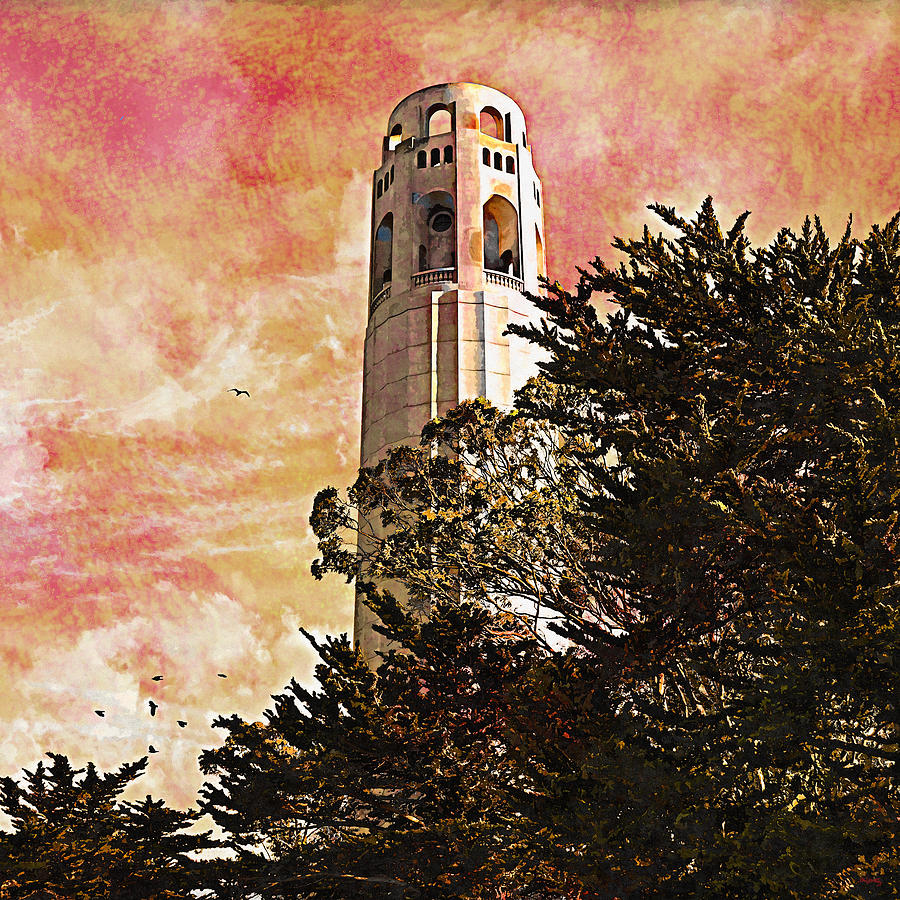 Coit Tower - City By The Bay by Glenn McCarthy Art and Photography