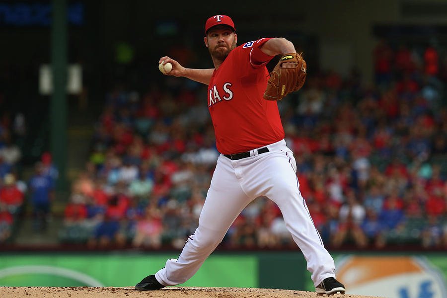 Colby Lewis Photograph by Ronald Martinez