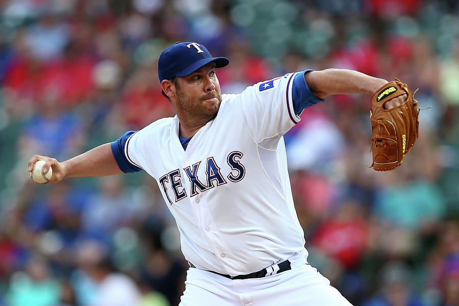 Colby Lewis Photograph by Sarah Crabill
