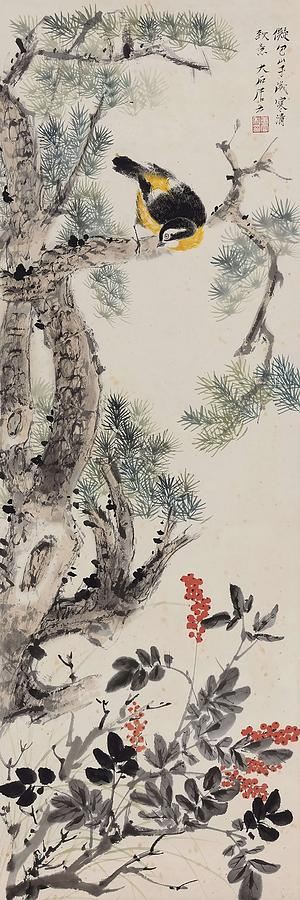 Tang Painting - Cold And Clear  by Tang Yun
