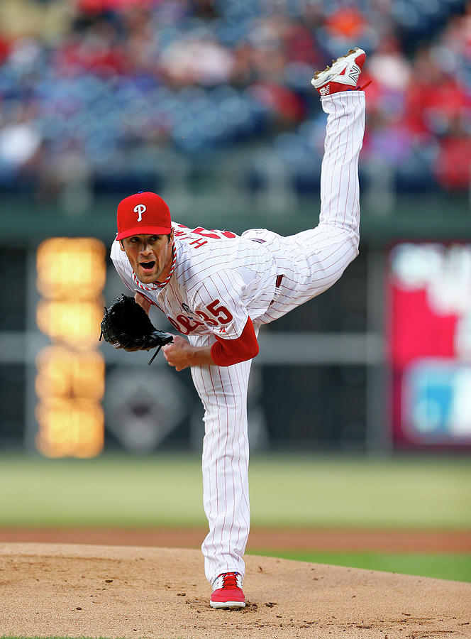 Cole Hamels Photograph by Rich Schultz