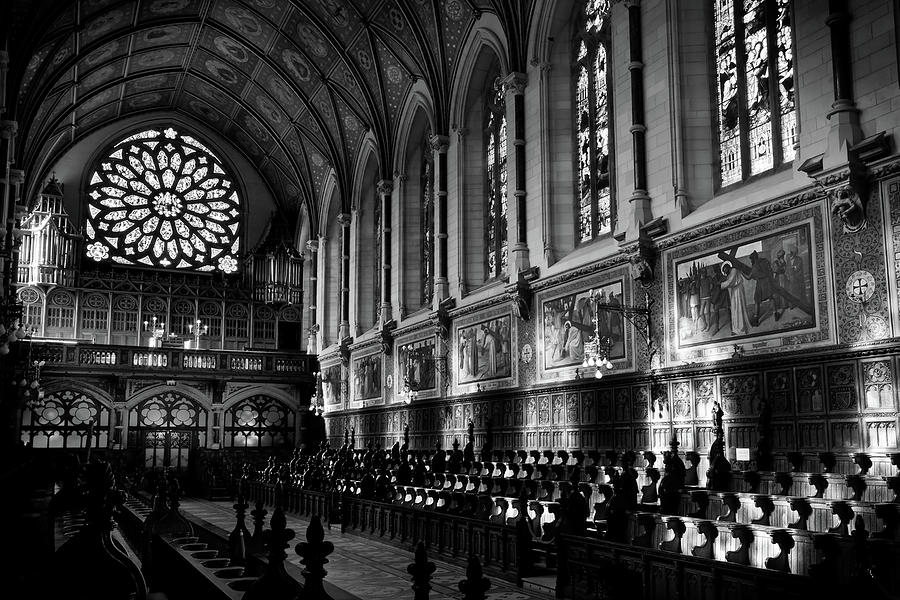 Maynooth Photograph - College Chapel Interior - Maynooth University, Ireland by Barry O Carroll